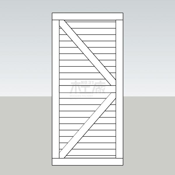 橫板穀倉門 - 三十一號木工廠